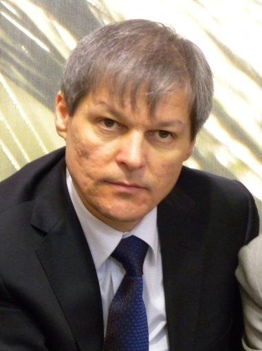 Il Commissario Europeo all'Agricoltura, Dacian Ciolos