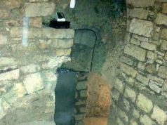 Una grotta ipogea pugliese del IX secolo d.C. Locali come questo sono ora utilizzabili per la stagionatura in Basilicata ma non ancora nel resto d'Italia