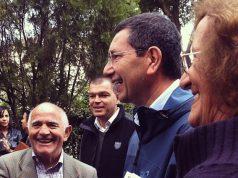 Ignazio Marino durante la recente campagna elettorale a sindaco di Roma (foto dal sito web di Ignazio Marino®)