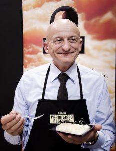 Giuseppe Alai, presidente del Consorzio di Tutela del Parmigiano-Reggiano