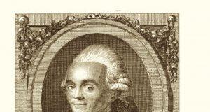 L'astronomo francese Joseph-Jérôme de Lalande, in un'incisione del XVIII secolo