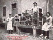 Prodittori di Roquefort nei primi anni del XX secolo