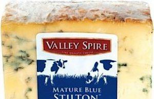 """Lo """"Stilton"""" Valley Spire di Lidl, che sarebbe prodotto anche da latte importato"""