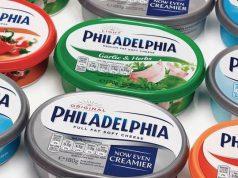 La grande varietà di Philadelphia disponibile sul mercato statunitense. Il nuovo iperproteico dovrebbe sbarcare anche in Europa