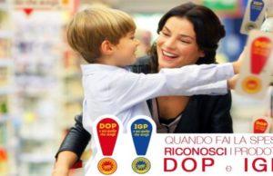 Uno degli annunci della campagna promozionale a favore dei formaggi aderenti all'Afidop