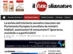 L'articolo di denuncia de Il Fatto Alimentare: la stampa italiana è asservita alle lobby