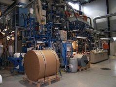 L'impianto per la lavorazione della nuova confezione bio che darà filo da torcere al tetrapak - foto Bio-on®