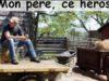 La foto con dedica con cui la sedicenne Manon Kernoa ha omaggiato il padre allevatore su facebook