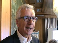 Il presidente della Giunta Regionale Sarda Francesco Pigliaru - immagine tratta da un video della Regione Sardegna®