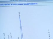 Un'immagine tratta dal video pubblicato dal Washington Post e qui riprodotto in basso: le analisi di laboratorio con cui è stato scoperto il ''caso Aurora'' - Washington Post©