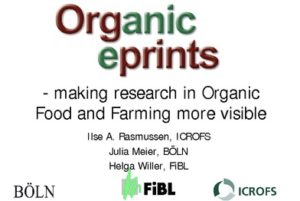 Organic ePrints logo